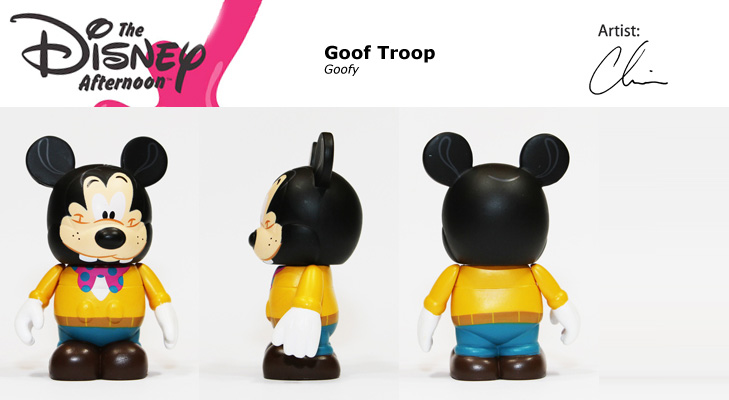 Vinylmation Open And Misc Disney Afternoon Goofy Goof