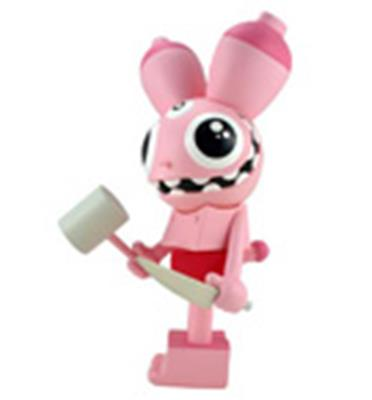 Kid Robot Art Figures Space Monkey: Pink