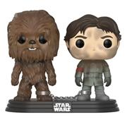 Funko Pop! Star Wars Han Solo and Chewbacca