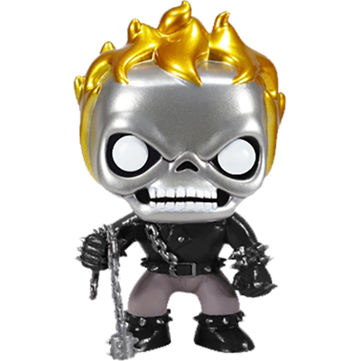 Funko Pop! Marvel Ghost Rider (Metallic) Icon