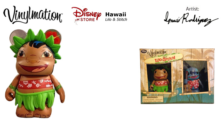 Vinylmation Open And Misc Lilo & Stitch 1 Lilo