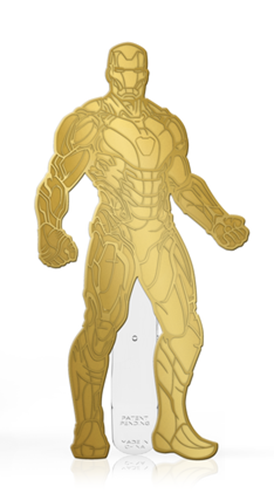 FiGPin Avengers: Endgame Iron Man (Gold Finish)
