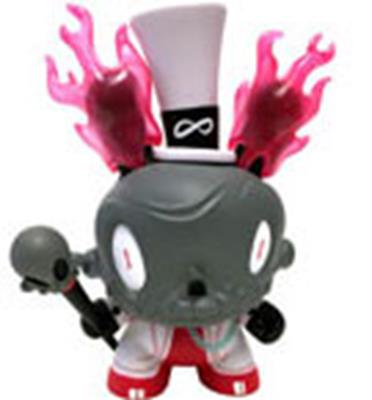 "Kid Robot 8"" Dunnys Lord Strange (Black)"