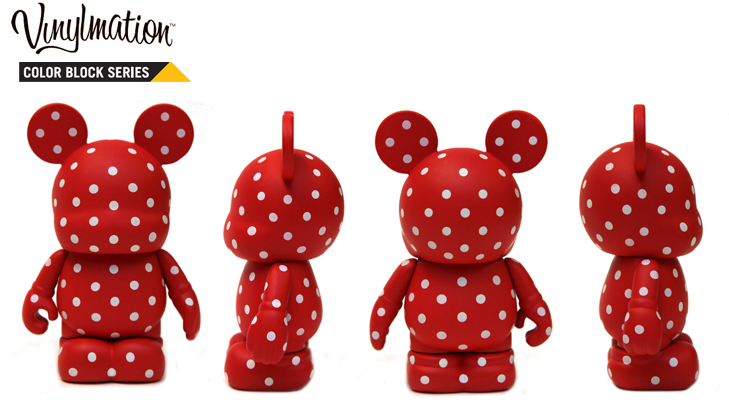 Vinylmation Open And Misc Color Block Minnie