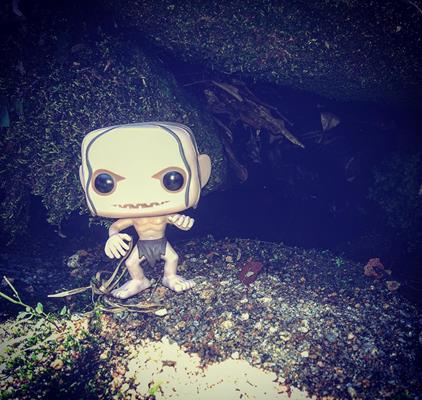 Funko Pop! Movies Gollum (The Hobbit) justonemorepop on instagram.com