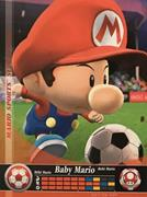 Amiibo Cards Mario Sports Superstars Baby Mario - Soccer
