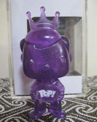 Funko Pop! Freddy Funko Freddy Funko (Crystal) (Purple) Stock