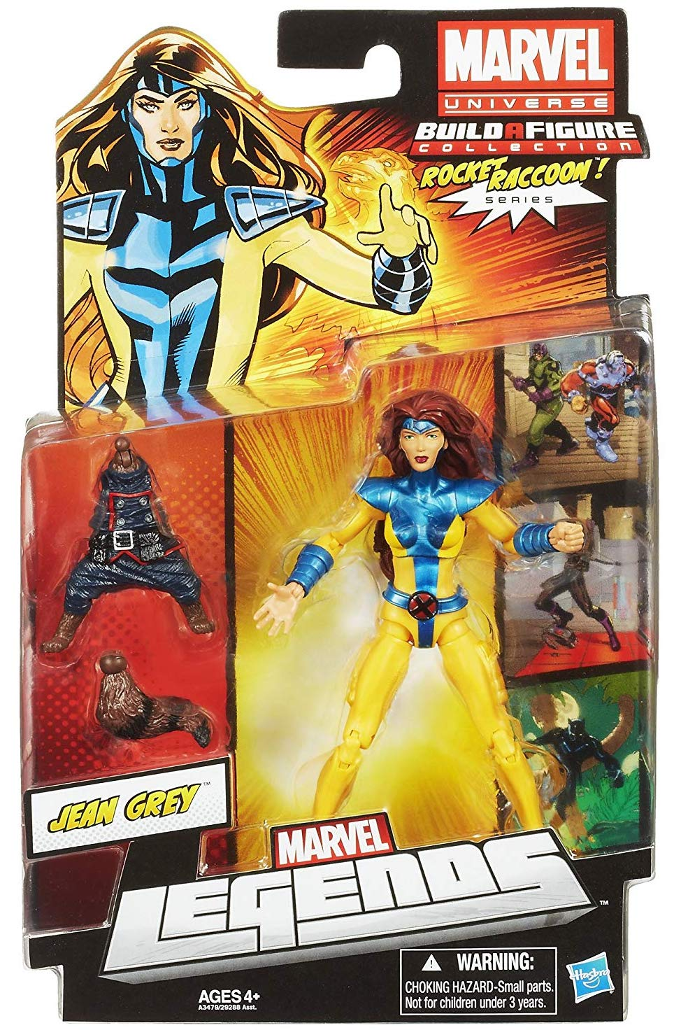 Marvel Legends Rocket Raccoon Series Jean Grey + Variants