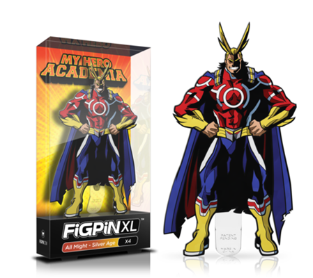 FiGPin My Hero Academia All Might - Silver Age