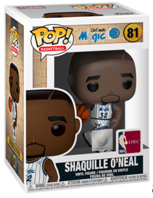 Funko Pop! Sports Shaquille O'Neal (Magic Home Jersey) Stock