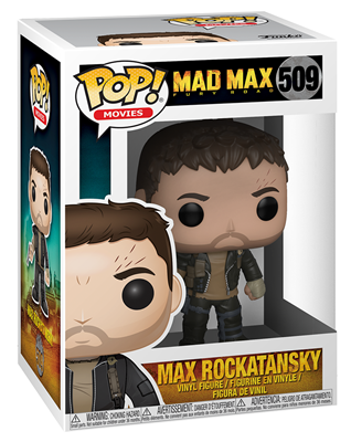 Funko Pop! Movies Max Rockatansky Stock Thumb