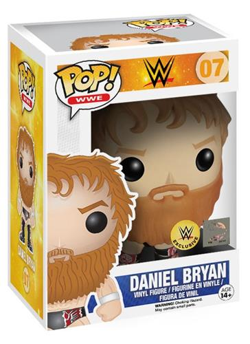 Funko Pop! Wrestling Daniel Bryan - Pattern on Outfit Stock