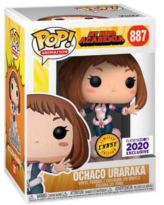 Funko Pop! Animation Ochaco Uraraka (Chase) Stock