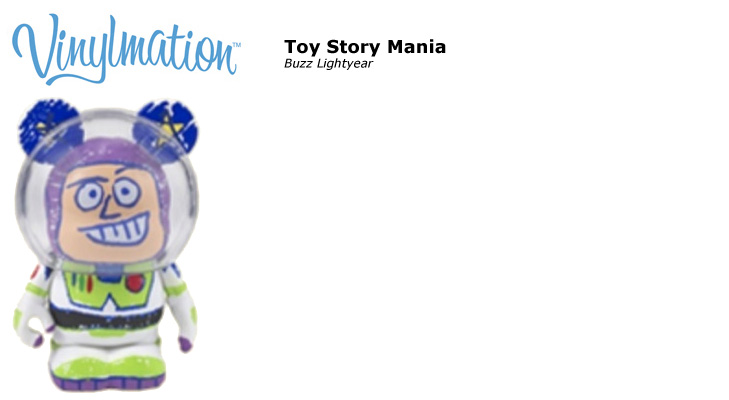 Vinylmation Open And Misc Toy Story Mania Buzz Lightyear
