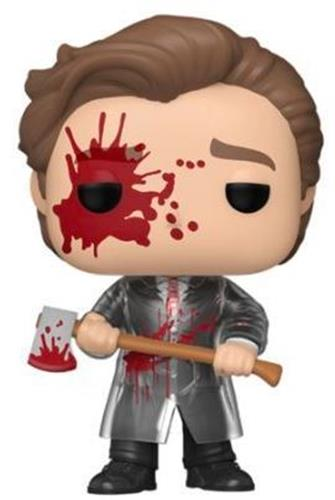 Funko Pop! Movies Patrick Bateman (with Axe) (Bloody) (Chase) Icon