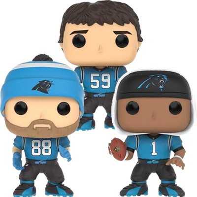 Funko Pop! Football Carolina Panthers (3-Pack)