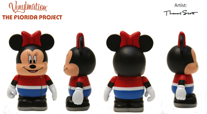 Vinylmation Open And Misc Florida Project 2011 Minnie Mouse