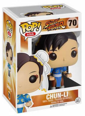 Funko Pop! Asia Chun-Li Stock