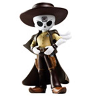 Kid Robot Art Figures Skullslinger Blonde