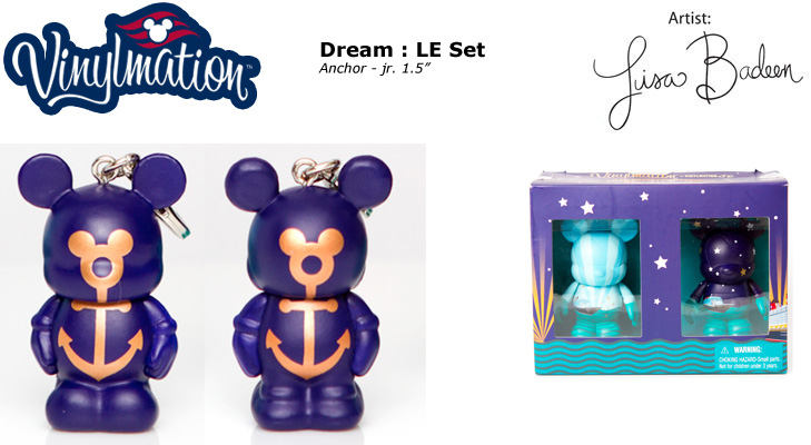 Vinylmation Open And Misc Disney Cruise Line Anchor