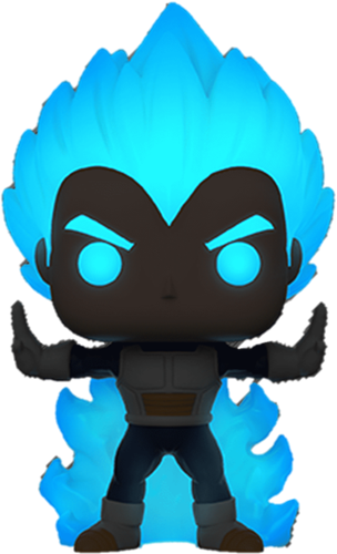 Funko Pop! Animation Vegeta Powering Up (Glows in the Dark) Icon