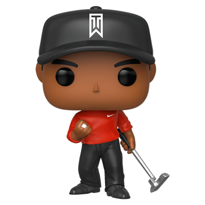 Funko Pop! Sports Tiger Woods (Red Shirt)