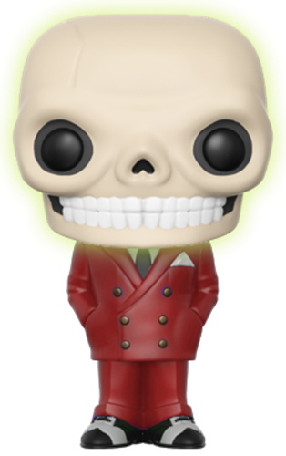 Funko Pop! Funko Bone Daddy (Red Suit) - Glow Icon