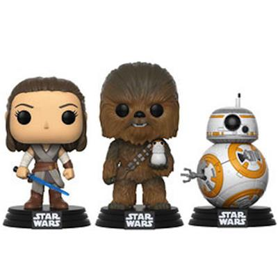 Funko Pop! Star Wars TLJ Rebels (3-Pack)