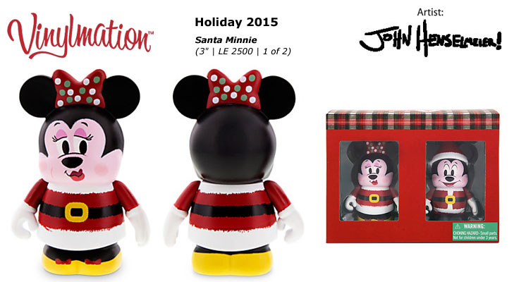 Vinylmation Open And Misc Holiday Minnie Mouse