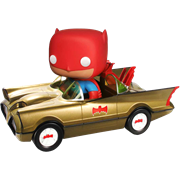 Funko Pop! Rides Batmobile (Gold)