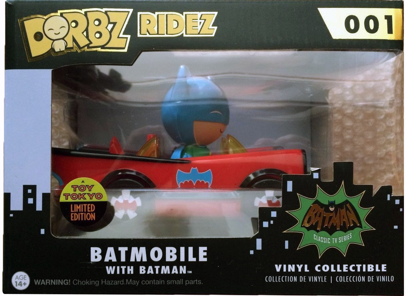 Dorbz Dorbz Ridez Batman (w/ Red Batmobile) Stock