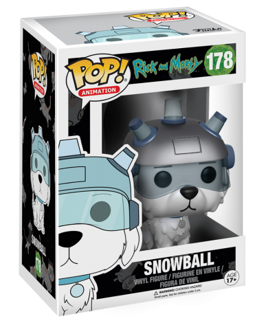 Funko Pop! Animation Snowball Stock
