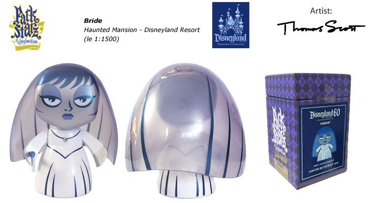 Vinylmation Open And Misc 60th Diamond Celebration Bride - Haunted Mansion
