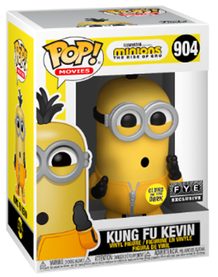 Funko Pop! Movies Kung Fu Kevin (Glows in the Dark) Stock