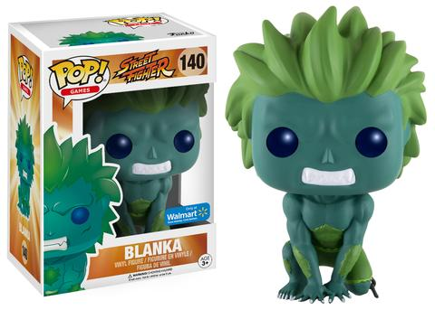 Funko Pop! Games Blanka (Blue) Stock