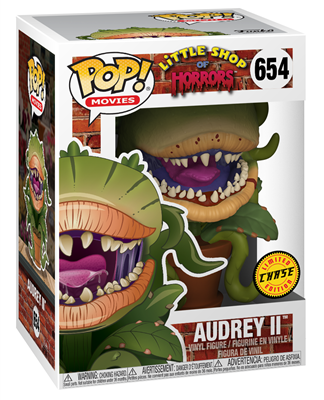 Funko Pop! Movies Audrey II (Bloody) - Chase Stock