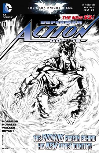 DC Comics Action Comics (2011 - 2016) Action Comics (2011) #11B Icon