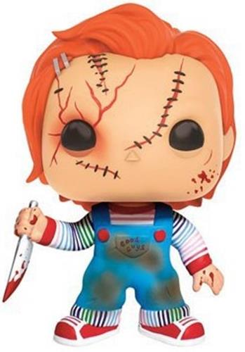 Funko Pop! Movies Chucky (Scarred)