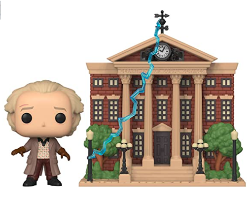 Funko Pop! Town Doc with Clock Tower