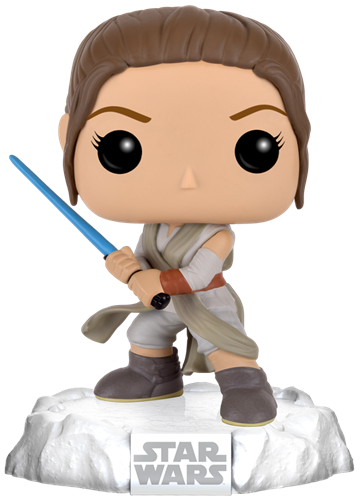 Funko Pop! Star Wars Rey (Snow Base)