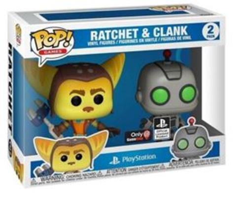Funko Pop! Games Ratchet & Clank (2-Pack) Stock