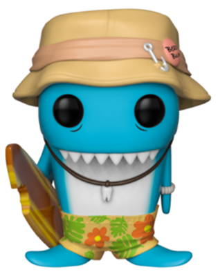 Funko Pop! Funko Fin Du Chomp (Blue)