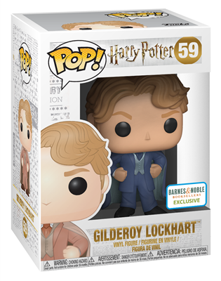 Funko Pop! Harry Potter Gilderoy Lockhart (Blue Suit) Stock