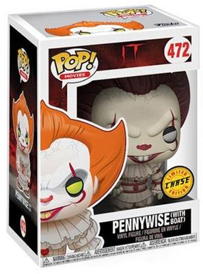 Funko Pop! Movies Pennywise (w/ Boat) - Chase Stock