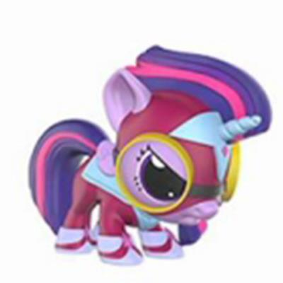 Mystery Minis Power Ponies Masked Matter-Horn (Angry) Icon