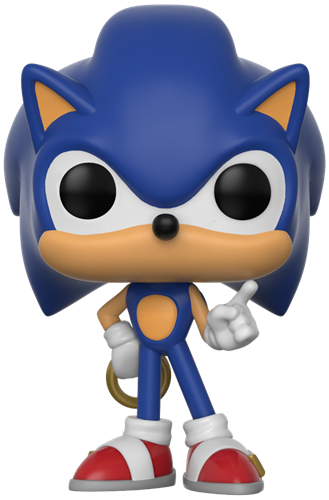 Funko Pop! Games Sonic (w/ Ring)