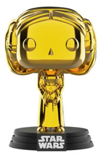 Funko Pop! Star Wars Princess Leia (Gold Chrome)