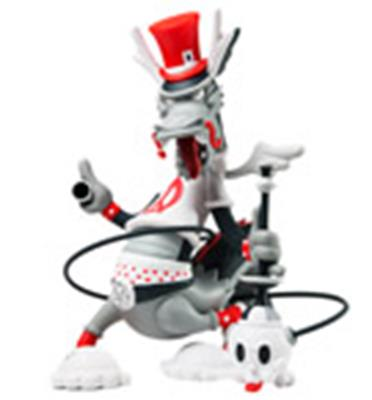 Kid Robot Art Figures Dweezil (Red)
