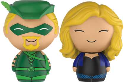 Dorbz DC Comics Green Arrow & Black Canary (2-Pack)
