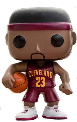 Funko Pop! Sports Lebron James (Red Jersey)
